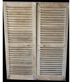 paire de volets persiennes 118 x 198