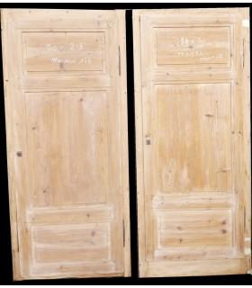 double façade sapin 180 x 213