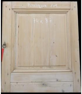 petite porte en sapin 74 x 87