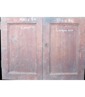 petites portes en sapin 114 x 86