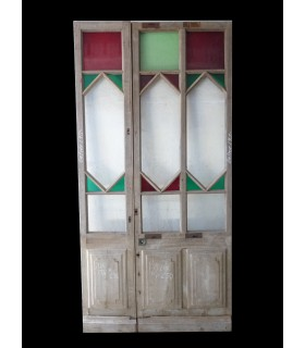 Porte simple 1900 124 x 250