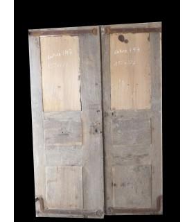 Porte double Régence 152 x 222