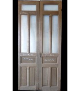 Porte double 131 x 178