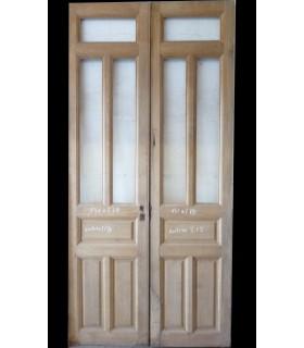 Porte double 131 x 278