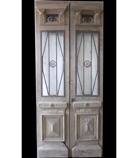 Porte double 1930 109 x 244