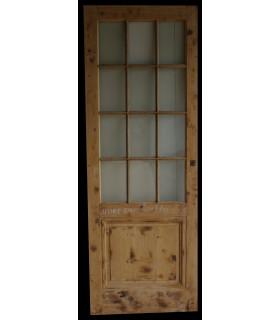 Porte simple Louis XVI 80 x 220