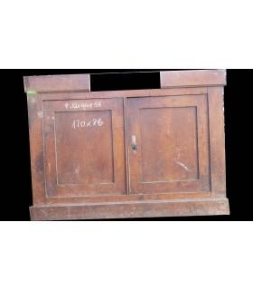 Porte double 120 x 88