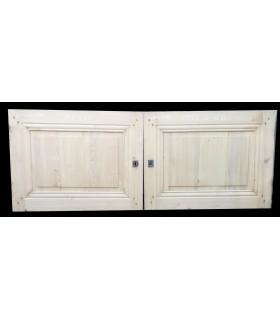 Porte double 157 x 60
