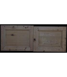 Porte double 128 x 50