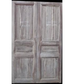 Portes palières en chêne 143 x 231