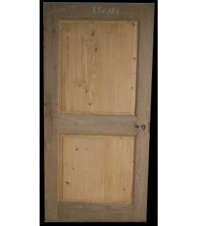 Porte en chêne et sapin 89x184