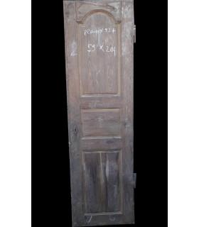 Porte de placard en chêne 59x204