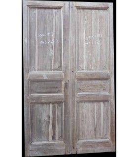 Portes en chêne 143x243