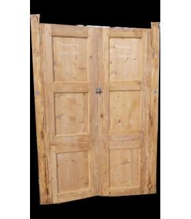 Paire de portes 126 x 204