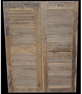 Paire de volets persiennes 104 x 135