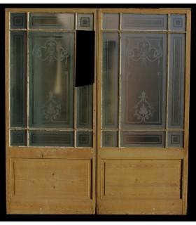 Porte vitrée 174 x 201