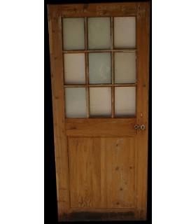 Porte vitrée 83 x 196