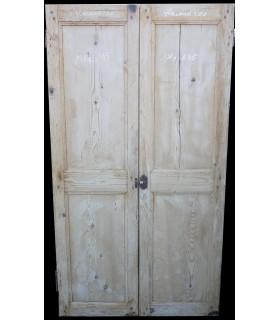 Double portes de placard 101x185