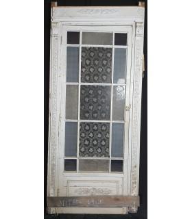 Porte vitrée 109 x 215