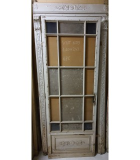 Porte vitrée 110 x 243