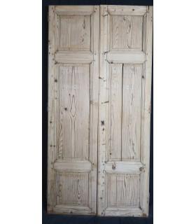 Portes de placard 120 x 243