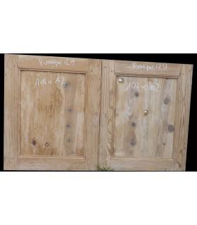 petites portes sapin 102 x 62