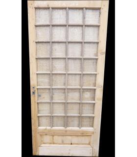porte vitrée Louis XVI 95x207