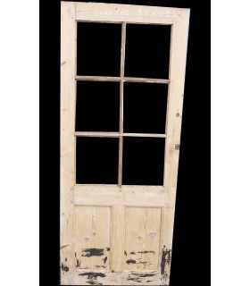 Porte vitrée 6 carreaux 82 x 197