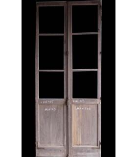 porte vitrée 110x263