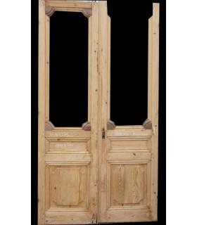 porte décor Louis XIV 140x260