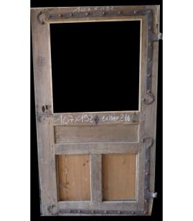 porte en chêne Louis XVI 107x192
