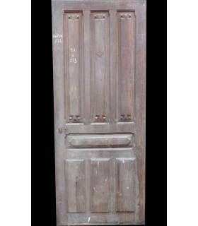 porte d'entrée en chêne 91 x 223