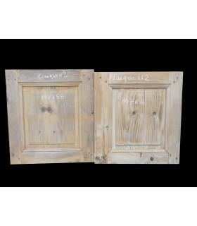 Paire de portes 107x58