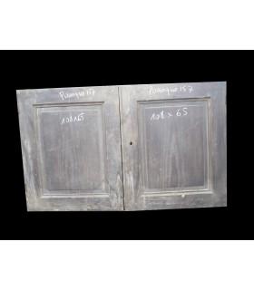 Paire de portes 108x65