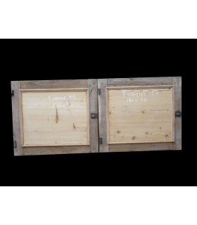 Paire de portes 174x76