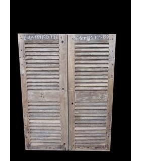 Paire de portes 101x135