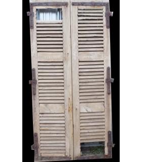 Paire de volets 125x250