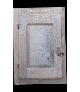 Porte simple Louis XIII