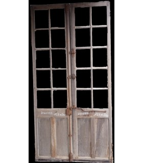 porte vitrée 127x260